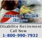 Federal Disability Retirement - Robert R. McGill